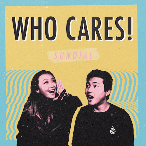 sundial - who cares! COVER ART